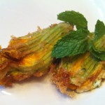 Crispy Stuffed Squash Blossoms