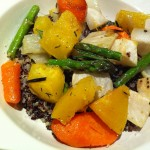 Roasted Vegetable Mélange with Quinoa