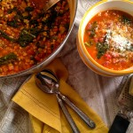 Tuscan Bean and Kale Soup with Farro