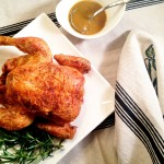 Cast Iron Chicken with Pan Gravy