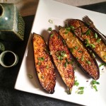 Miso Butter Glazed Eggplant