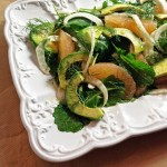 Grapefruit, Fennel & Avocado Salad with Baby Kale