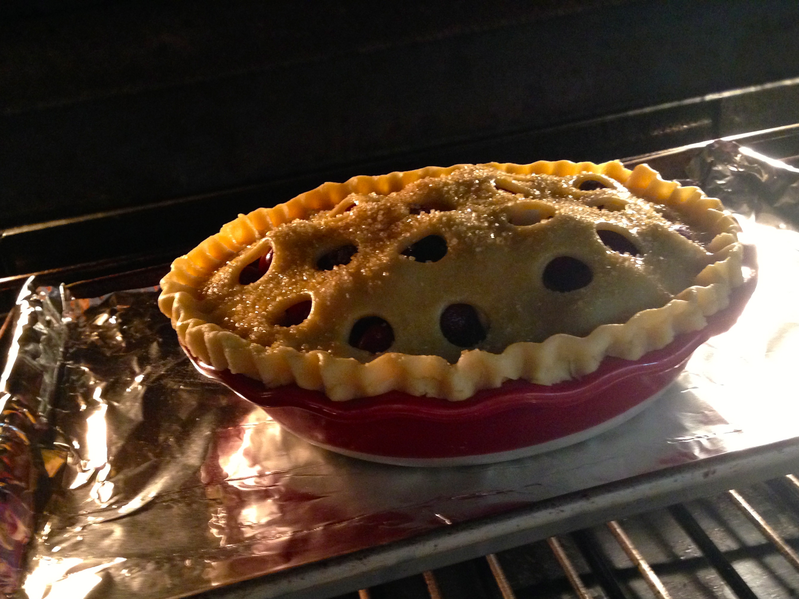Continue baking for 50 to 60 minutes; cover with a foil tent if crust is browning too quickly. The pie is done when the crust is golden brown and juices are ... & american pie u2013 passioneats